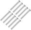 Sourcing carte simple trou chape Pins 6 mm x 50 mm tête plate-Zinc Plating Acier 10