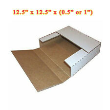 100 Lp 125 Record Album Mailers Book Box Variable Depth Laser Disc Mailers