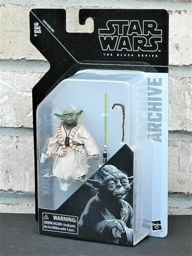 """Yoda Star Wars The Black Series archive 6/"""" Inch Action Figure Wave 2 Maître Jedi"""