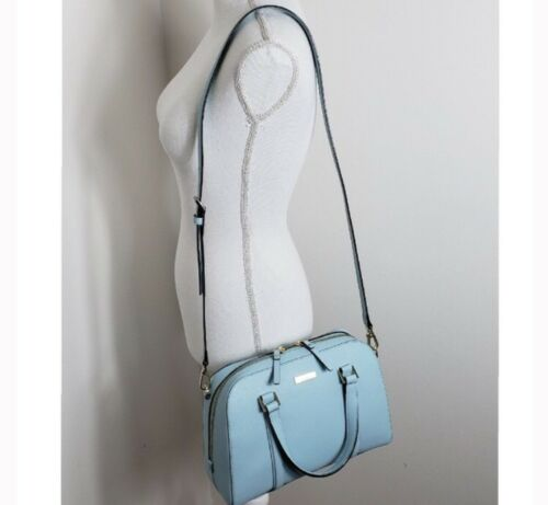 ledertasche Lane Grace Kleine Felix Kate Blue In Aus Spade Saffiano Newbury tq77T4