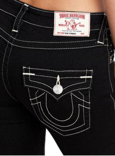 Straight nero donna da Jeans in donna Religion Billy risciacquo True da vTRdvx