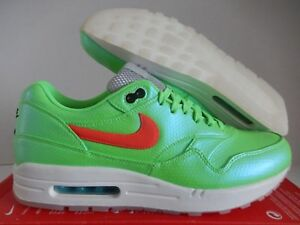 free shipping aa502 0c6f3 Image is loading NIKE-AIR-MAX-1-FB-PREMIUM-QS-NEON-