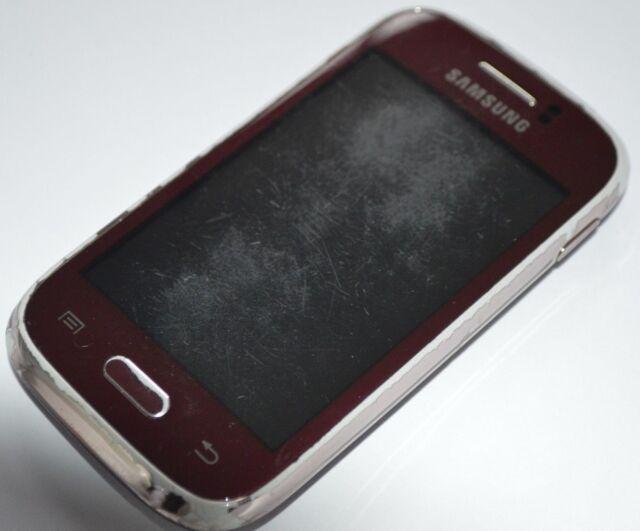 Samsung Galaxy Young GT-S6310 - 4 Go-Rouge (Débloqué) Smartphone
