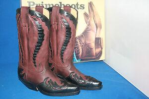 Prime Boots Cowboystiefel westernstiefel  stiefel neu  gr. 45  marron coco negro