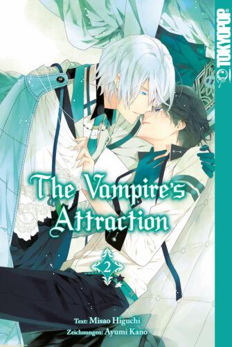 deutsch NEUWARE The Vampire´s Attraction 2 Manga Tokyopop