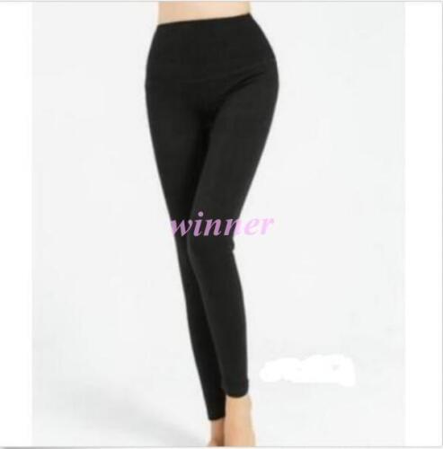 Winter Black Grey Beige Red Women/'s Leggings Snug Pants Wool blend sz
