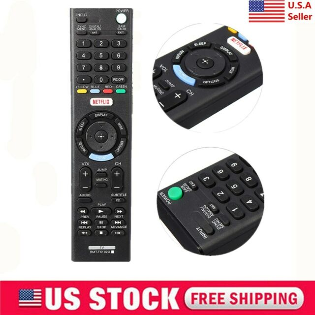 New Replacement Remote Control for TV sony KDL-32R400A