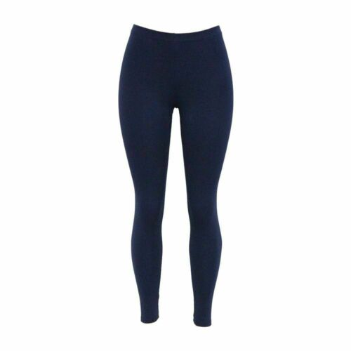 Womens full length cotton leggings plus size 6 8 10 12 14 16 18 20 22 24 ^ CTnLg