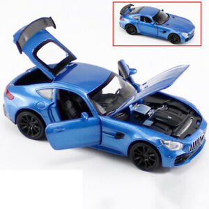 AMG-GT-1-32-Scale-Model-Car-Diecast-Toy-Vehicle-Gift-Kids-Blue