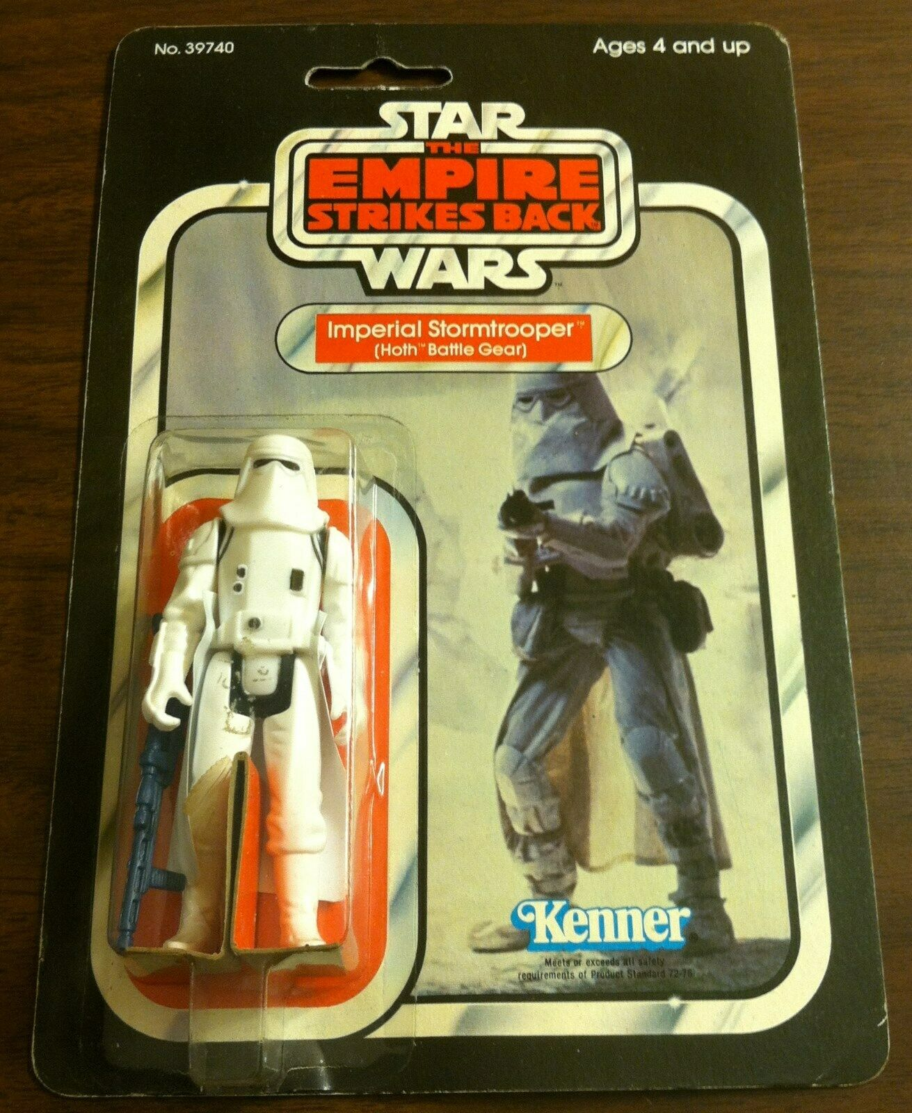 1980 KENNER STAR WARS EMPIRE STRIKES BACK HOTH STORMTROOPER 31 A WATER DAMAGE