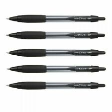 Great Gift 5 Pack Missouri Mizzou Tigers Retractable Click Ink Pens Disposable