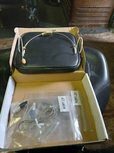 OSP HS-12 DUAL EAR HEADWORN MICROPHONE-NEW OLD STOCK-FULL WARRANTY AT CABLE