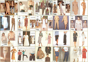 bc663791628 OOP Vogue Designer Calvin Klein Sewing Pattern Misses Size You Pick ...