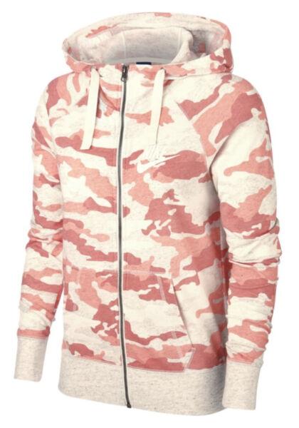Kapuzenjacke Damen NIKE NSW CAMO AO9174-697 Jacke Sportjacke Pullover Sweatshirt