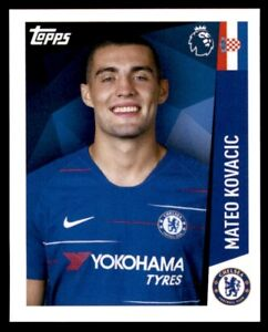 the best attitude 29868 d350c Details about Merlin Premier League 2019 - Mateo Kovacic Chelsea No. 84