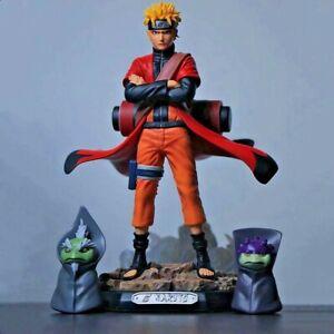 Anime-Naruto-Shippuden-GK-Uzumaki-Naruto-Sage-Mode-PVC-Action-Figure-Toy-New