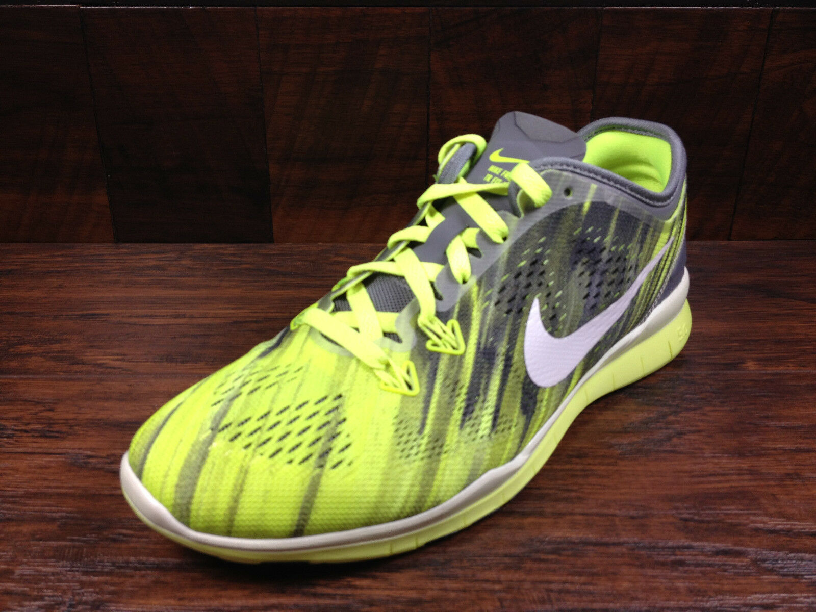 NIKE 5 FREE 5.0 TR FIT 5 NIKE Womens (Cool Grey / White / Volt) Crossfit [704695-004] ea30d8