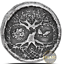 1-oz-Silver-Celtic-Tree-of-Life-MK-BarZ-999-Fine-3D-Art-Round-INSTOCK thumbnail 1