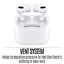 thumbnail 9 - Apple Airpods Pro with Wireless Charging Case Silicone Tips Noise Cancel iPhone