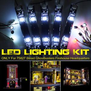 ONLY-LED-Light-Lighting-Kit-For-LEGO-75827-Street-Ghostbusters-Firehouse-D