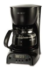 Mr. Coffee 4-Cup Programmable Coffeemaker DRX5, Black, New, Free Shipping
