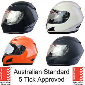 NEW-FULL-FACE-MOTORCYCLE-HELMET-ADULT-SIZES-XS-S-M-L-XL-5-tick-approved-FULL