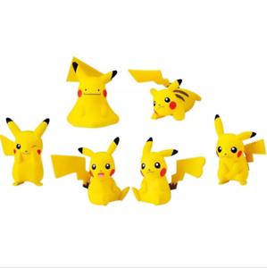 Pokemon Figure 6pcs set Pikachu Each High Quality Kids Action Figure Toys Gifts