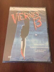 VIERNES-13-1-DVD-SLIMCASE-91-MIN-CINE-DE-TERROR-EL-MUNDO-NEW-amp-SEALED