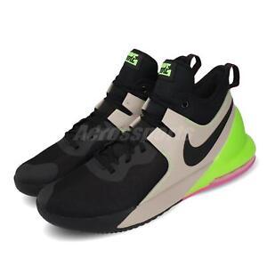 order online cheap prices cute Nike Air Max Impact Black Khaki Ghost Green Pink Men Basketball ...