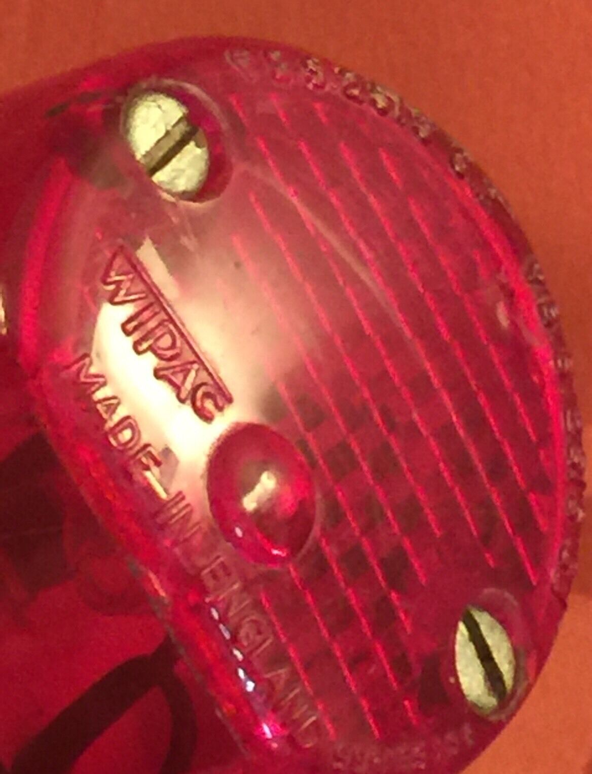 Vintage RALEIGH RSW TWENTY SHOPPER Rear RED LENS  TAIL LIGHT  outlet sale