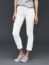 Gap Women's White Authentic 1969 Best Girlfriend Jeans Size 30t 10 Tall