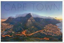 Cape Town, South Africa, Table Mountain, Atlantic Ocean etc. --- Modern Postcard