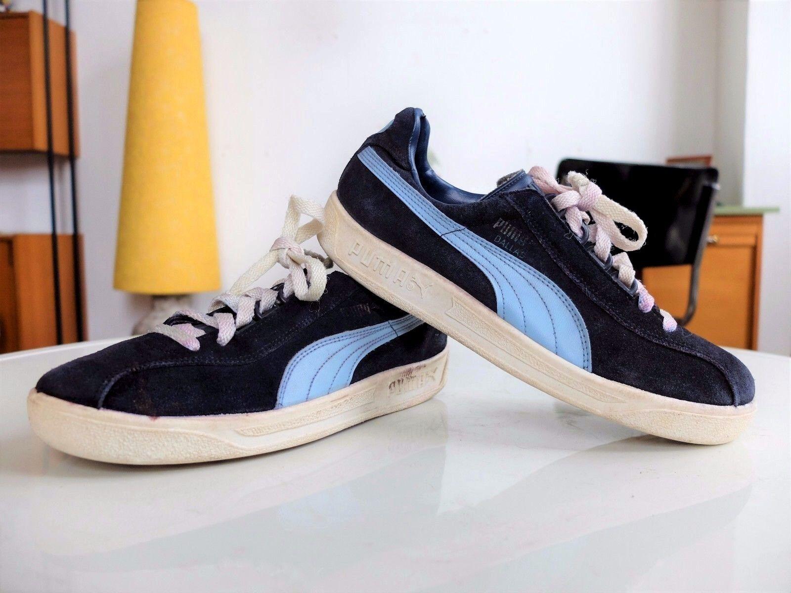 PUMB DBLLBS Sneakers Blue Kult Turnschuhe 70er TRUE VINTBGE UK 5,5 Sportschuhe
