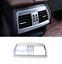 Chrome Interior Rear Air Vent Outlet Cover Trim For BMW X5 F15 X6 F16 2015-2018