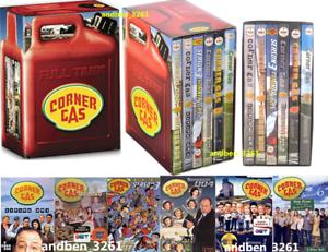 CORNER GAS FULL TANK:COMPLETE SERIES SEASON 1-6 (DVD SET, 17-Disc, Region 1)