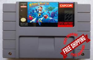 Mega-Man-X-Super-Nintendo-SNES-USA-Version-FREE-SHIPPING