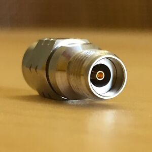 Echoic-2-92mm-Female-2-4mm-Male-Coaxial-Adapter-Connector-40GHz-RF-Microwave