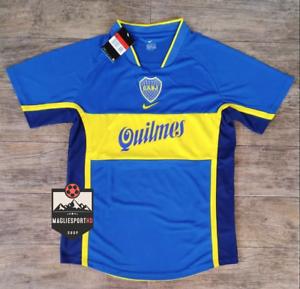 Maglia Boca Juniors 2020-2021 Calcio Maradona Camiseta Pavon Riquelme Jersey