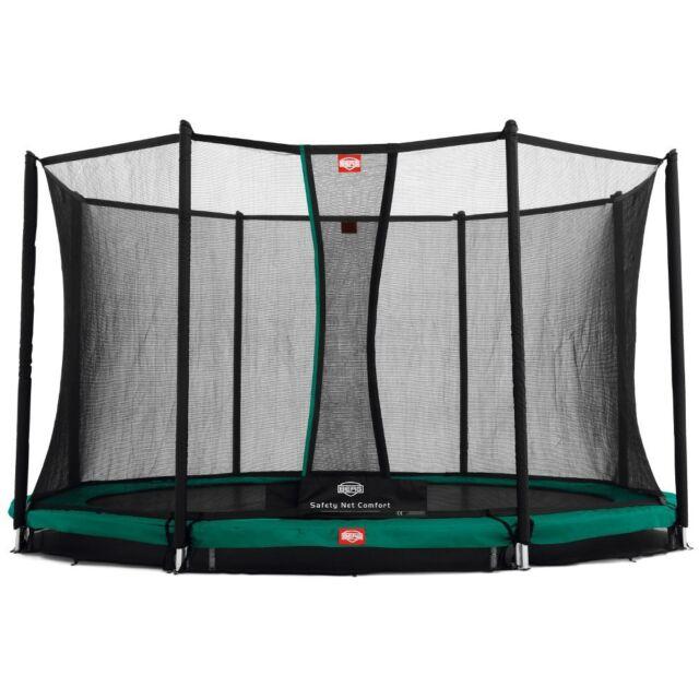 Bergtoys Trampolin Favorit 330cm inkl. Comfort Netz  - InGround