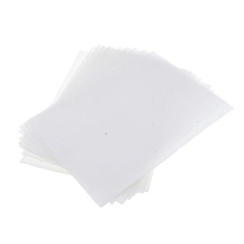 10 Blatt Keramikfaser Isolierpapiere Quadratische Mikrowellenofenpapiere