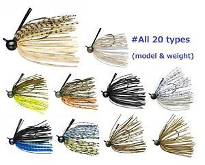 Maschera-di-inserimento-in-gomma-Daiwa-esca-Multi-Jig-MANICA-CORTA-BLACK-BASS-FISHING-20-tipi