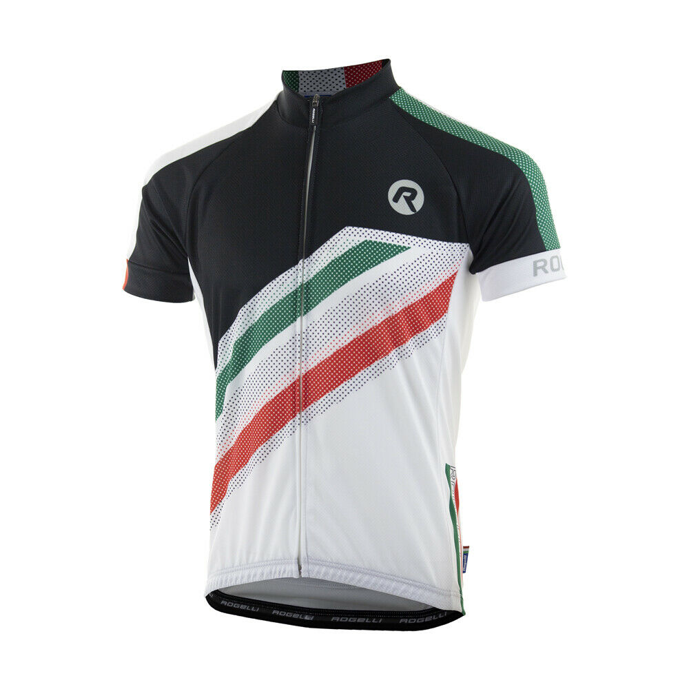 ROGELLI TEAM 2.0 Herren Fahrradtrikot Radtrikot Trikot Kurzarm Hemd Fahrrad T-shirt