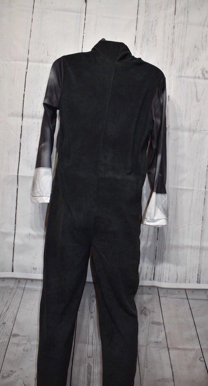 Briefly Stated $125 BLACK JUMPSUIT MEN SZ XL Punisher COSTUME Sleepwear SALE L15
