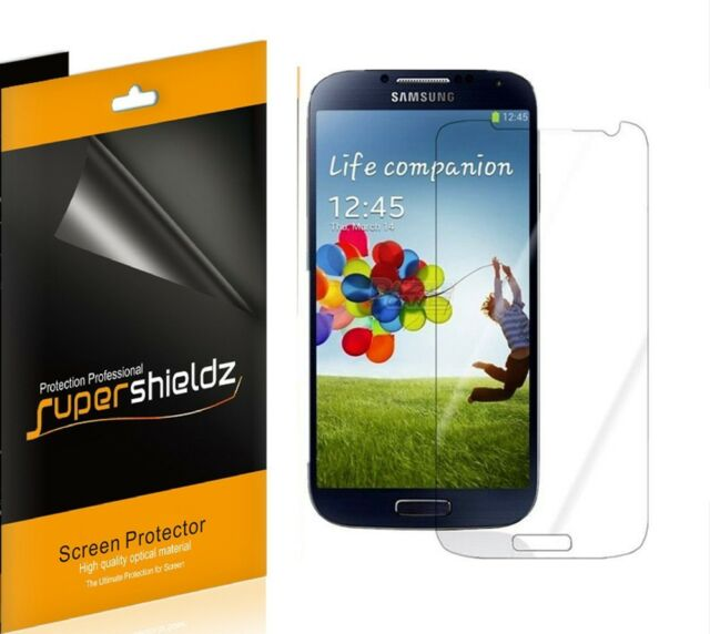 3x HD Clear Screen Protector For Samsung Galaxy S4 T-Mobile Verizon Sprint AT&T