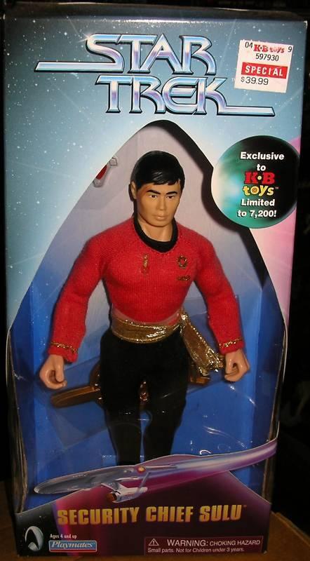 Estrella Trek jefe de seguridad Sulu  Mirror Mirror  Kb Excl