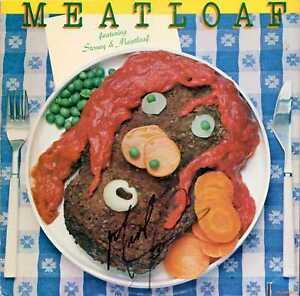 AUTOGRAPHED Meatloaf – Featuring Stoney & Meatloaf Vinyl LP