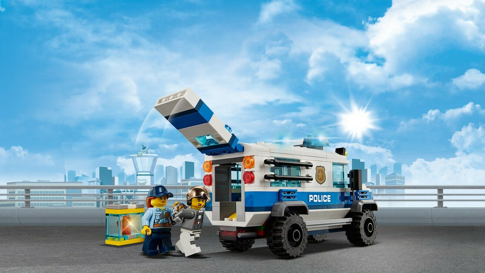 LEGO® City 60209 60209 60209 Polizei Diamantenraub NEU OVP_ NEW MISB NRFB 59f618