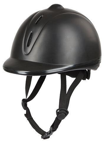 KERBL Reithelm Econimo black verstellbar Reitkappe Helm Sicherheitsreithelm