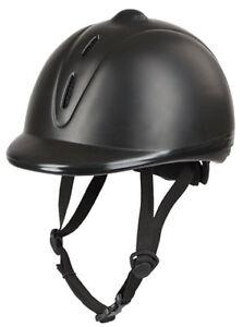 KERBL-Reithelm-Econimo-schwarz-verstellbar-Reitkappe-Helm-Sicherheitsreithelm