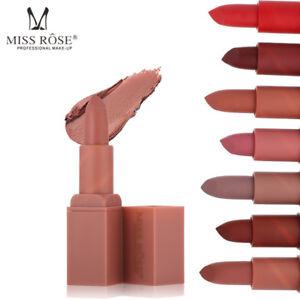 MISS-ROSE-Waterproof-Long-Lasting-Lipstick-Matte-Lip-Gloss-Makeup-Cosmetics-New